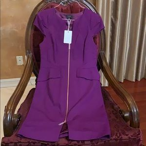 Ted Baker purple dress